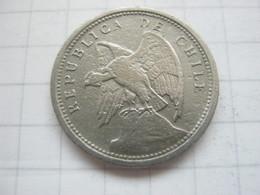 Chile , 10 Centavos 1928 - Chile