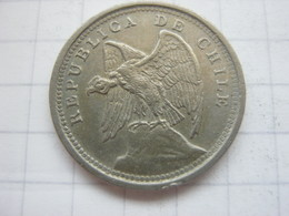 Chile , 10 Centavos 1933 - Chile