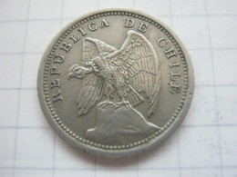 Chile , 10 Centavos 1935 - Chile