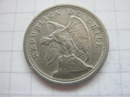 Chile , 10 Centavos 1937 - Chile