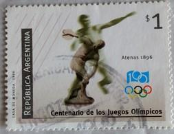 128. ARGENTINA 1996 USED STAMP OLYMPICS - Argentina