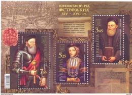 2015. Ukraine, The Family Of Prices Ostrozhsky, Mich.Bl.133, S/s,  Mint/** - Ucraina