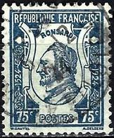 France 1924 - Mi 173 - YT 209 ( Pierre De Ronsard, French Poet ) - Usati