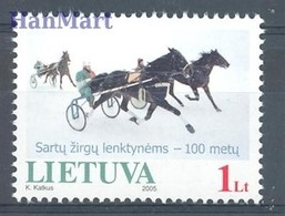 Lithuania 2005 Mi 868 MNH ( ZE3 LTH868 ) - Horses