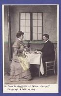 """Couple Amour Love A TABLE """"PRECURSEUR"""" ( TTB état) V671 - Coppie"""