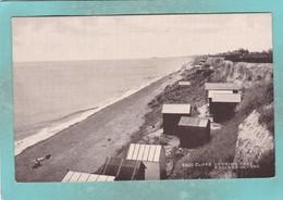 Small Postcard Of Cliffs,Holland-on-Sea, Essex,England,K87. - Sonstige