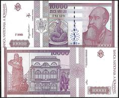 10.000 LEI BANKNOTE FROM ROMANIA EDITED IN 1994 - Romania