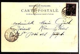 32800 A - Avec Vignette De L'Exposition Universelle - Storia Postale