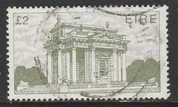 Ireland 1988 New Values - Irish Architechture £2 Green SW 666 O Used - 1949-... Republik Irland