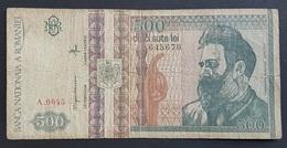 FD0513 - Romania 500 Lei Banknote 1992 #A.0045 - Rumania