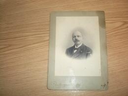 Old Cardboarad Paris Photo Reutlinger Serbian Diplomat Srpski Diplomata Trgovac 13.5x19 Cm - Persone Identificate