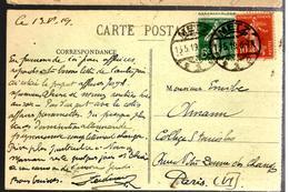 32802 - Semeuses Avec Cad  Allemand - Storia Postale
