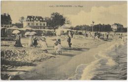 LE POULIGUEN - LA PLAGE - SUPERBE ANIMATION - VERS 1900 - Le Pouliguen