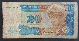 FD0513 - Zaire 20 Nouveaux Zaires Banknote 1993 #H6441967C - Zaire