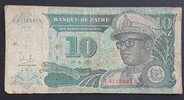 FD0513 - Zaire 10 Nouveaux Zaires Banknote 1993 #E4113597D - Zaire