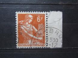"""VEND BEAU TIMBRE DE FRANCE N° 1115 + BDF , OBLITERATION """" DUNKERQUE """" !!! - 1957-59 Moissonneuse"""