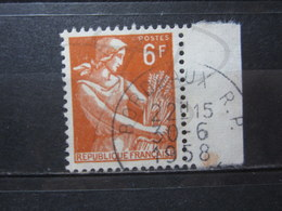 """VEND BEAU TIMBRE DE FRANCE N° 1115 + BDF , OBLITERATION """" BORDEAUX """" !!! - 1957-59 Moissonneuse"""