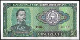 50 LEI BANKNOTE FROM ROMANIA EDITED IN 1966 - Rumania