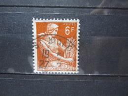"""VEND BEAU TIMBRE DE FRANCE N° 1115 , OBLITERATION """" ST-MALO """" !!! - 1957-59 Moissonneuse"""