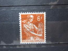 """VEND BEAU TIMBRE DE FRANCE N° 1115 , OBLITERATION """" COURBEVOIE """" !!! - 1957-59 Moissonneuse"""