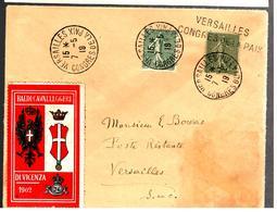 32816 - Vignette BALDI CAVALLEGGERI DI VICENZA - Storia Postale