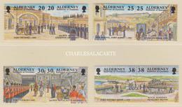 ALDERNEY AURIGNY 1999  GARRISON ISLAND 3  S.G. 132-139  U.M.  N.S.C. - Alderney
