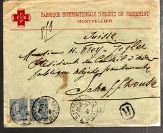 32820 - FABRIQUE DE  PANSEMENTS    Pour La SUISSE - Storia Postale