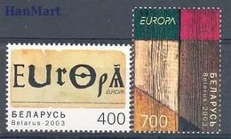 Belarus 2003 Mi 488-489 MNH ( ZE4 BYL488-489 ) - Bielorrusia