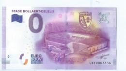 2016 BILLET TOURISTIQUE 0 Euro   Stade Bollaert-delelis   Dpt 62  Port 1.50    Numero Aleatoire - EURO
