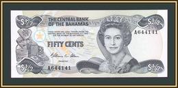 Bahamas 1/2 Dollars (50 Cents) 1974 (1984) P-42 (42a) UNC - Bahamas
