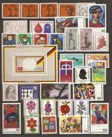 Allemagne Fédérale 1974 - Année Complète MNH - 640/74 - Timbres