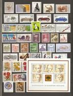 Allemagne Fédérale 1982 - Année Complète MNH - 950/93 - Timbres