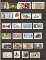 Allemagne Fédérale 1983 - Année Complète MNH - 994/1028 - Timbres