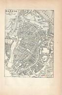 LAMINA ESPASA 2026: Plano De Danzig Alemania - Andere Sammlungen