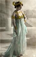 RARE ORIGINAL CPA MATA HARI DANCER 1900's Java Indonésie Dutch Courtisane By WALERY Paris ANTIQUE REAL PHOTO POSTCARD - Artisti