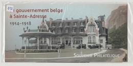 """FRANCE - Bloc Souvenir N° 110 - Neuf Sous Blister - """" Le Gouvernement Belge à Sainte-Adresse  1914 - 1918 """" - - Sheetlets"""