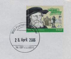 Herzog Heinrich - Tag Der Sachsen Marienberg 2006 - Aus Dem Hause Der Albertinischen Wettiner - WVD - Other