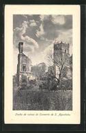 AK S. Agostinho, Trecho De Ruinas Do Convento - India