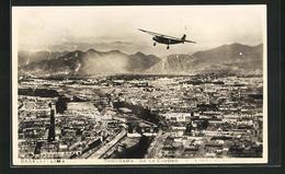 AK Lima, Blick Aus Dem Flugzeug Auf Die Stadt - Peru