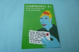 BELLE ILLUSTRATION  EROLF TOTORT...CARTEXPO 31..LA MUTUALITE 1998 - Collector Fairs & Bourses