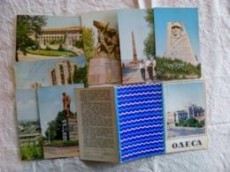 7 Post Cards Ussr 1973 Ukraine Odessa Odesa - Ukraine