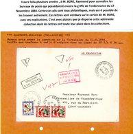 VAL D'OISE ORDONNANCE / 17 NOVEMBRE 1844 / (Art 30 ET 31) ENV 1973 BEAUMONT SUR OISE ET TAXE CHAMBERY SAVOIE => VOIR DES - Postmark Collection (Covers)