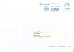 Ema Neopost _ Lettre De Bratislava Pour Les Pays-Bas - Enveloppe Entière - Slovaquie