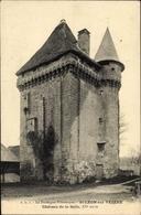Cp Saint Leon Sur Vezere Dordogne, Chateau De La Salle - Frankreich