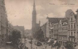 Poland - Gdansk - Danzig - Lange Markt Mit Rathaus - Tram - Pologne
