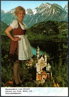 D6582 - Orig. Liesl Dietrich Jodeln Jodlerin - Autogramm Autogrammkarte - Autographs