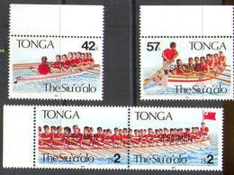 M1388 ✅ Sport Rowing SPECIMEN 1991 Tonga 4v MNH ** - Remo