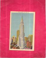 NEW YORK  - ETATS UNIS  -  CPA COLORISEE - CHRYSLER BUILDING - BERG1 - - Autres Monuments, édifices