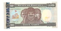 50 NAKFA 1997 - Erythrée