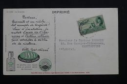 EGYPTE - Carte Publicitaire Médicale Ionyl En 1951 Pour L'Algérie  , Affranchissement Plaisant - L 62123 - Lettres & Documents